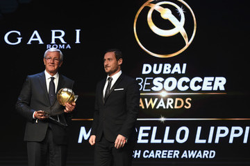 Marcello Lippi Globe Soccer Awards 2017