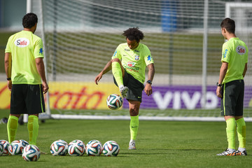 Marcelo Fred FIFA World Cup Training Camp: Day 4