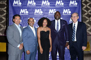 Kevin Legrett, Rajan Mehta, Allyson Felix, Marcellus Wiley and Thomas Phelps attends March of Dimes Get S.E.T. Los Angeles at The Novo Theater at L.A. Live on June 27, 2019 in Los Angeles, California.