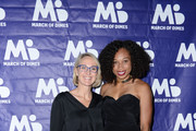 Kari Boatner and Allyson Felix attend March of Dimes Get S.E.T. Los Angeles at The Novo Theater at L.A. Live on June 27, 2019 in Los Angeles, California.