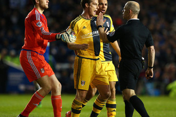 Marcus Bettinelli Brighton and Hove Albion v Fulham - Sky Bet Championship