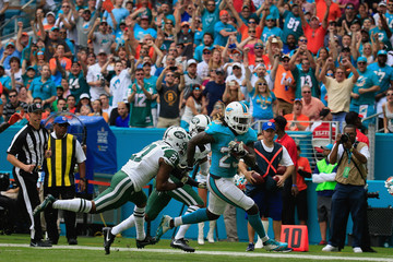 Marcus Gilchrist New York Jets v Miami Dolphins