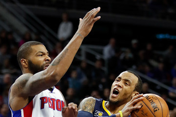 Marcus Morris Indiana Pacers v Detroit Pistons