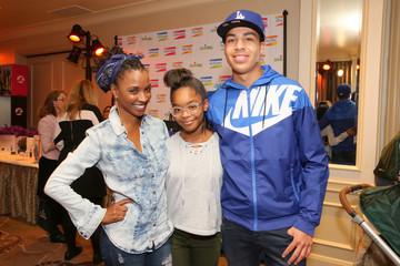 Marcus Scribner Marsai Martin HBO LUXURY LOUNGE Presented by ANCESTRY - Day 1