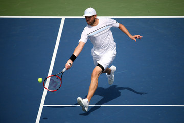 Mardy Fish 2015 U.S. Open - Day 3