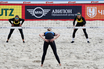 Maria Antonelli FIVB Moscow Grand Slam - Day 3