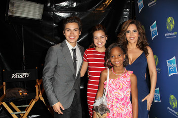 Maria Canals-Barrera Bailee Madison Variety's Power Of Youth Presented By Hasbro And GenerationOn - Flips Audio Arrivals