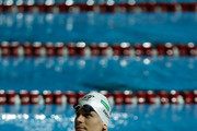 Cesar Cielo Filho of Brazil relaxes after Men's 100m Freestyle final during Maria Lenk Swimming Trophy 2017 - Day 3 at Maria Lenk Aquatics Centre on May 04, 2017 in Rio de Janeiro, Brazil.