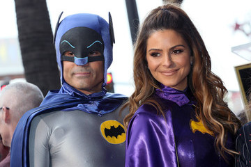 Maria Menounos Keven Undergaro Burt Ward Is Honored With A Star On The Hollywood Walk Of Fame