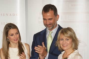 Maria Rey Spanish Royals Attend the Journalism Awards