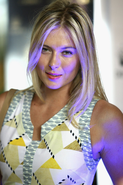 Maria Sharapova - 2012 Australian Open Players Party