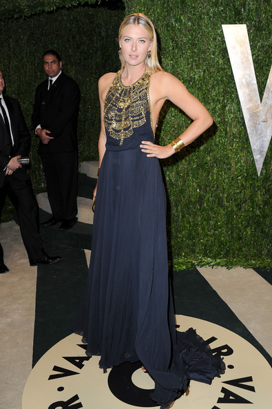 Maria Sharapova - 2013 Vanity Fair Oscar Party Hosted By Graydon Carter - Arrivals