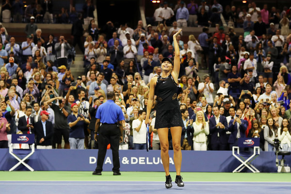 Win Over Halep Gives Sharapova's Career A Shot In The Arm