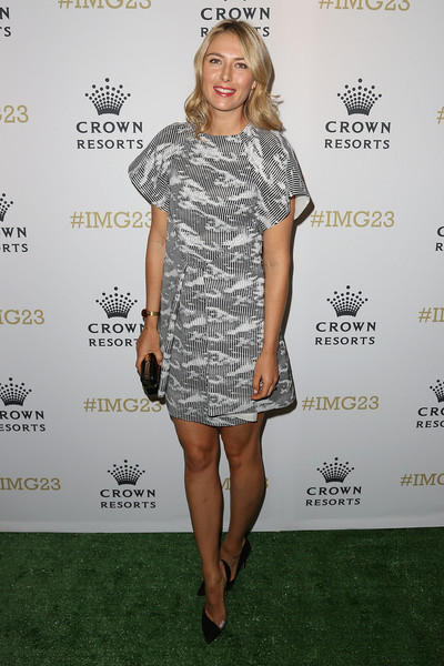 Maria Sharapova - Crown's IMG@23 Tennis Players' Party