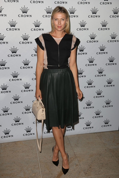 Maria Sharapova - Crown's IMG Tennis Players' Party