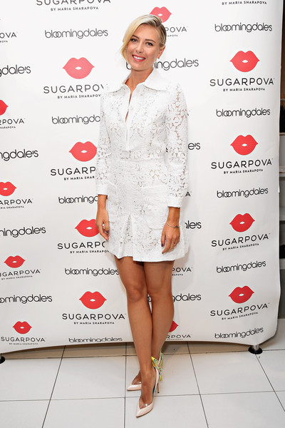 Maria Sharapova Unveils New Sugarpova Pop-Up Shop at Bloomingdale's Flagship in NYC