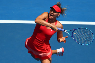 Maria Sharapova 2015 Australian Open - Day 7