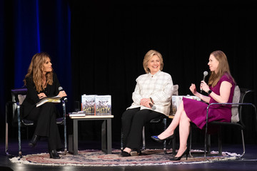 Maria Shriver Hillary Clinton And Chelsea Clinton Discuss Their New Book 'The Book Of Gutsy Women'