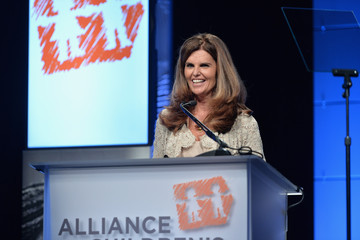 Maria Shriver Inside the Alliance for Children's Rights Dinner