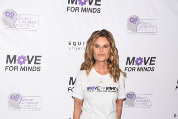 Maria Shriver The Women's Alzheimer's Movement And Equinox Fitness Clubs Host 2019 'Move For Minds'