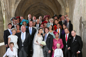 Maria Teresa Wedding Of Prince Felix Of Luxembourg & Claire Lademacher : Reception At 'Couvent Royal'
