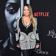 """Mariah Carey Tyler Perry's """"A Fall From Grace"""" New York Premiere"""