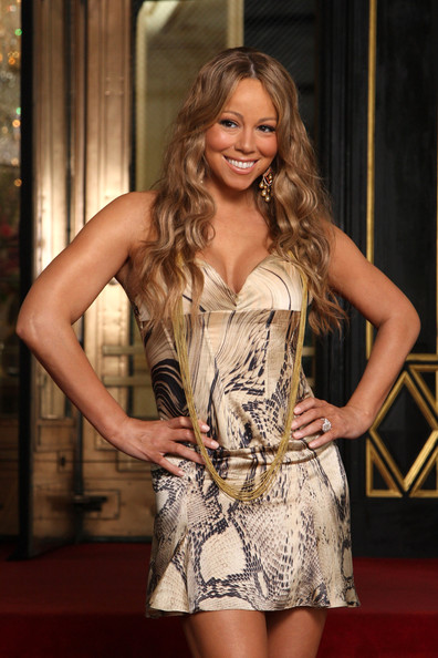 Mariah+Carey in Mariah Carey On Set For Her New Music Video