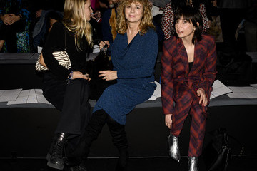 Mariam Hernandez Ana Locking - Front Row - Mercedes Benz Fashion Week Madrid Autumn/Winter 2020-21