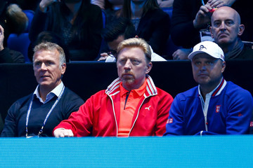 Marian Vajda Barclays ATP World Tour Finals - Day Three