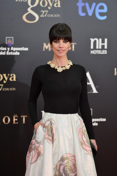 Maribel Verdu - Goya Cinema Awards 2013 - Red Carpet