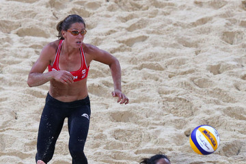 Marie-Andree Lessard Olympics Day 4 - Beach Volleyball