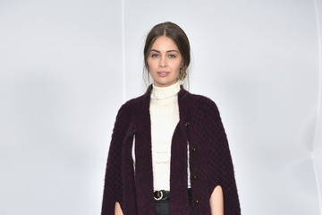 Marie-Ange Casta Chanel : Front Row  - Paris Fashion Week Womenswear Fall/Winter 2017/2018