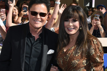 Marie Osmond Donny Osmond Donny And Marie Osmond Honored By The Las Vegas Walk Of Stars