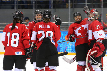 Marie-Philip Poulin Ice Hockey - Winter Olympics Day 5