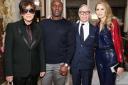 (L-R) Kris Jenner, Corey Gamble, Tommy Hilfiger and Dee Hilfiger attend as Marigay McKee and Bill Ford celebrate the opening of pioneering African non-profit mothers2mothers's first New York City office with reception on November 7, 2018 in New York City.
