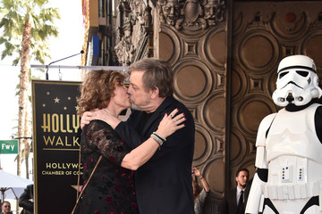 Marilou York Mark Hamill Is Honored With A Star On The Hollywood Walk Of Fame