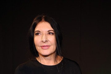 Marina Abramovic 'Feeding' Press Conference