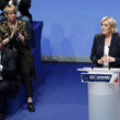Marine Le Pen National Congress Of The Front National - Day Two