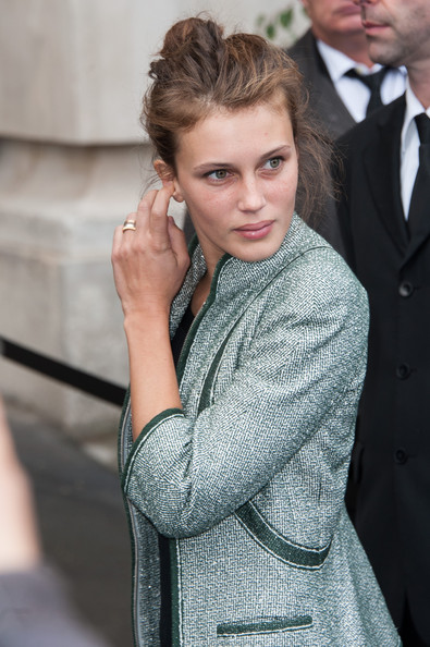 Marine Vacth Marine Vacth arrives at the Chanel Spring / Summer 2013 show as part of Paris Fashion Week at Grand Palais on October 2, 2012 in Paris, France.