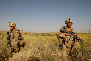 Michael Bryan U.S. Marines Continue Suppression Of Insurgents