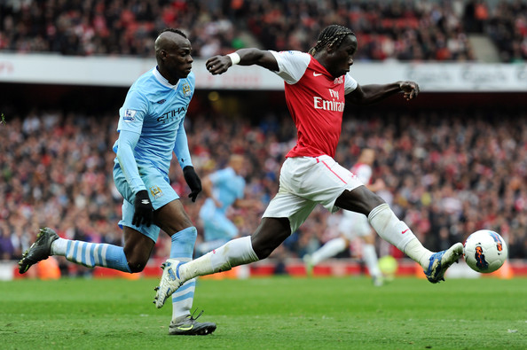 Mario Balotelli - Arsenal v Manchester City - Premier League