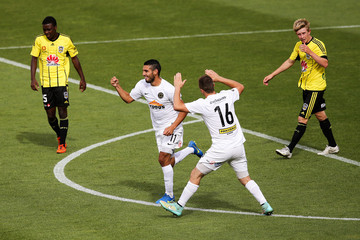 Mario Barcia ASB Premiership - Wellington Phoenix v Team Wellington