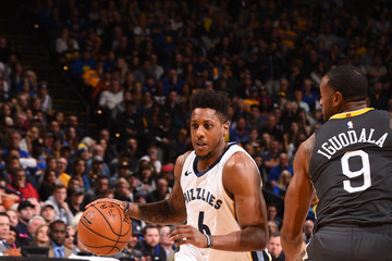 Mario Chalmers Memphis Grizzlies v Golden State Warriors