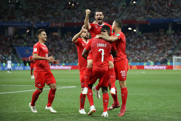 Mario Gavranovic Switzerland Vs. Costa Rica: Group E - 2018 FIFA World Cup Russia