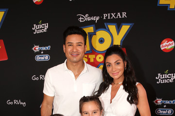 Mario Lopez Dominic Lopez The World Premiere Of Disney And Pixar's 'TOY STORY 4'