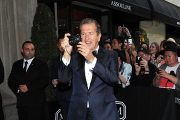 Mario Testino Met Gala 2015 Departures From The Mark Hotel - NYC
