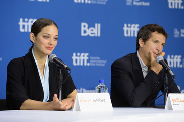 Marion Cotillard Guillaume Canet 'Blood Ties' Press Conference in Toronto