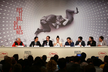 Marion Cotillard Jeremy Renner 'The Immigrant' Press Conference in Cannes