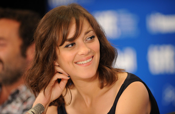 "Marion Cotillard Actress Marion Cotillard speaks at ""Little White Lies"" press conference during the 2010 Toronto International Film Festival at the Hyatt Regency on September 12, 2010 in Toronto, Canada."