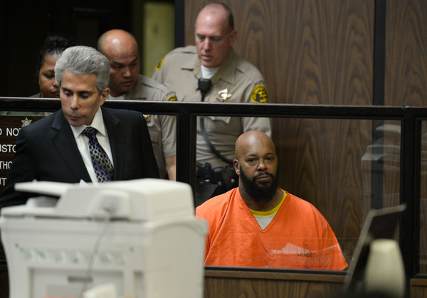 Suge Knight's Arraignment